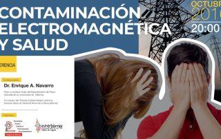 Conferencia contaminación electromagnética y salud