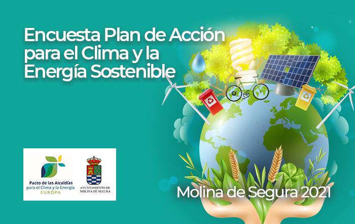 Encuesta Plan de Acción para el Clima y la Energía Sostenible - Molina de Segura 2021
