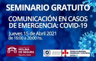Seminario COMUNICACIÓN EN CASOS DE EMERGENCIA COVID-19