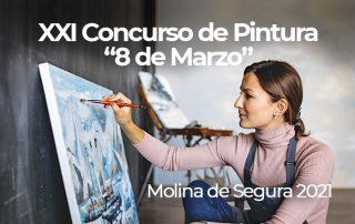 xxi concurso de pintura 8 de marzo 2021 molina de segura